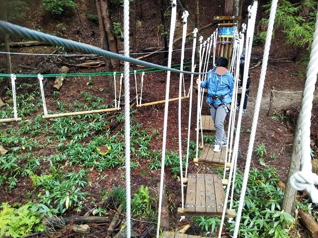 アドベンチャーコース2吊り板