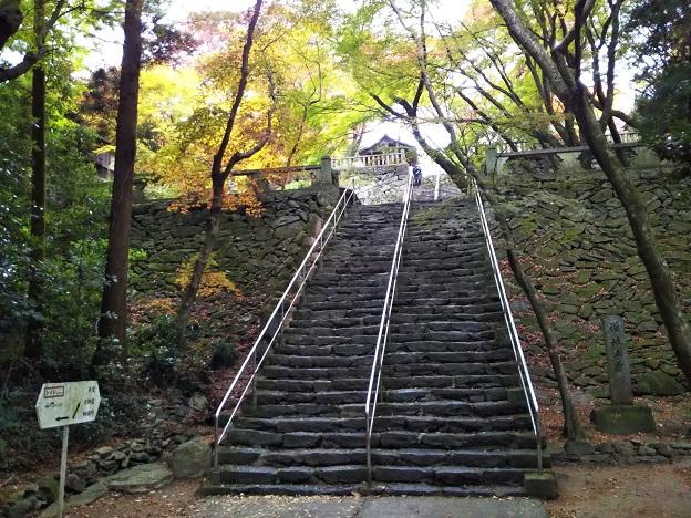 根来寺の階段
