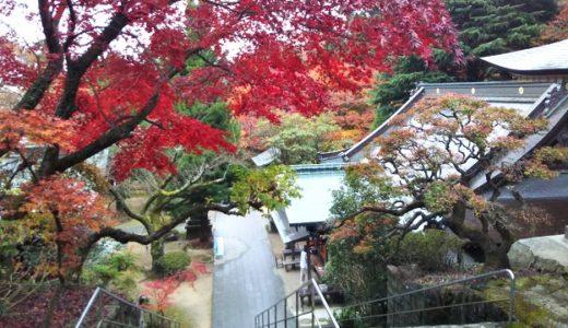 根香寺 紅葉が美しい四国八十八ヶ所第82番札所 初詣が出来る高松市五色台のお寺