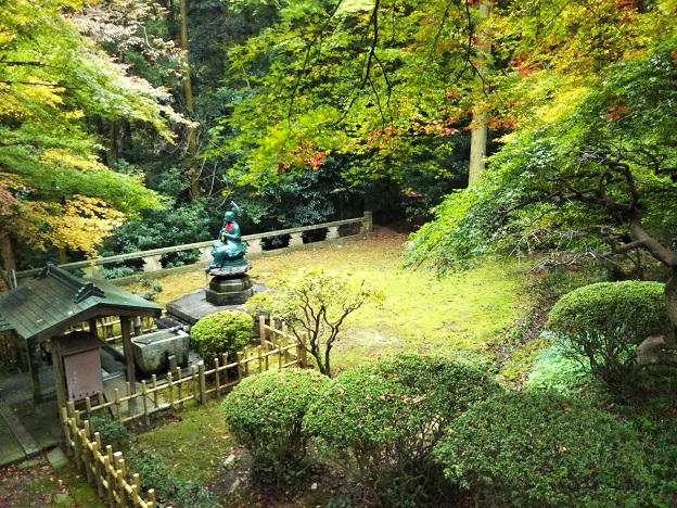 根香寺の緑のエリア