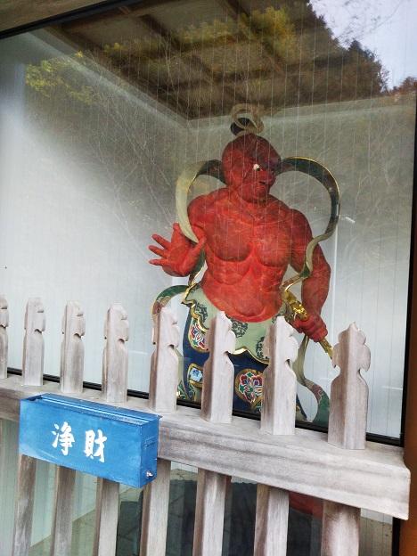 大窪寺 仁王像 吽形