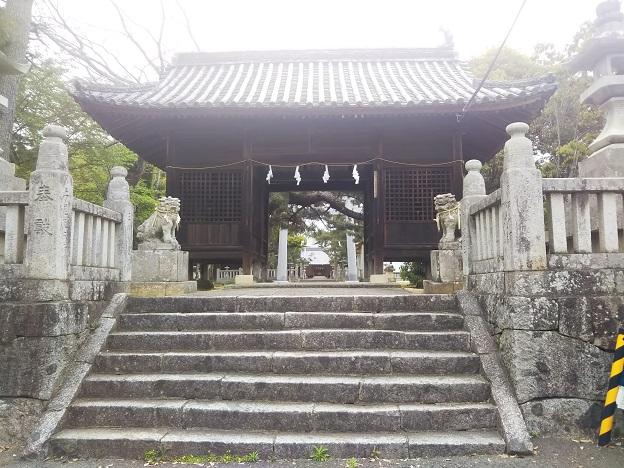 滝宮神社 入口