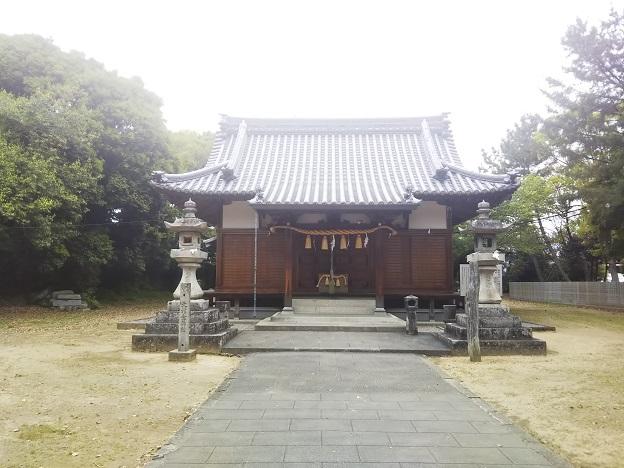 滝宮神社 拝殿