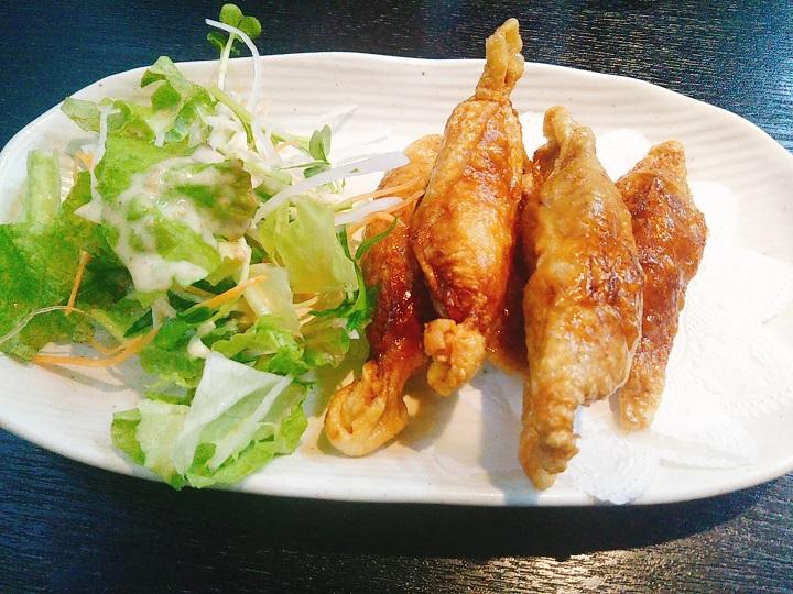 3番ラーメン 鶏皮餃子