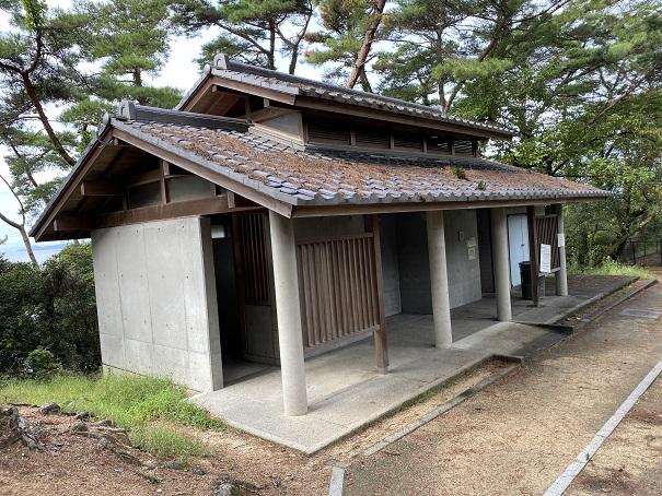 象ヶ鼻岩銭形展望台トイレ