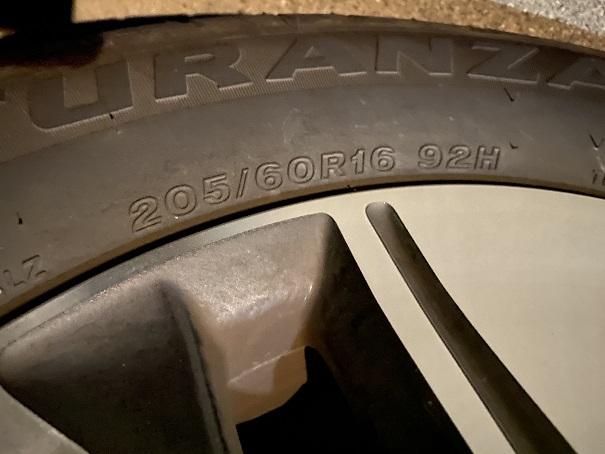 AutoSock車のタイヤのサイズを調べる