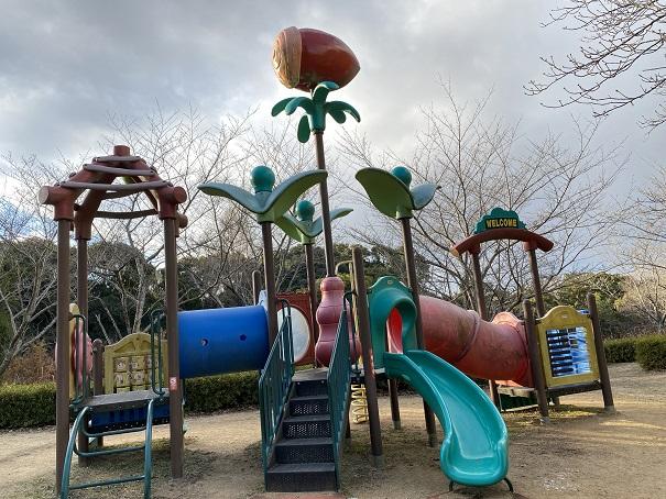 公渕森林公園 ちびっこ広場大型遊具