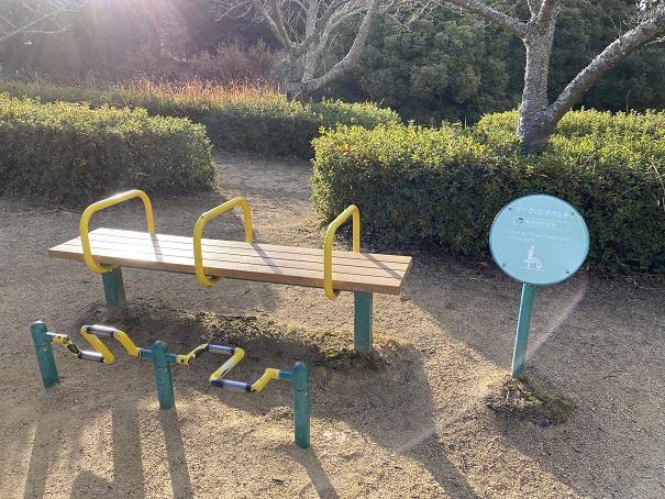 サイクルベンチ公渕森林公園 ちびっこ広場