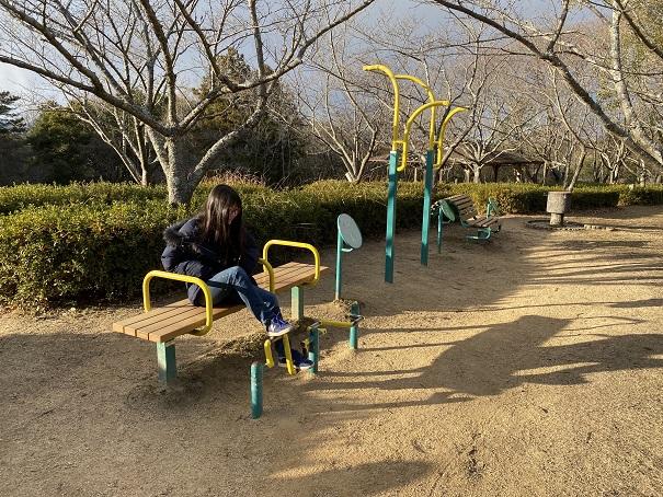 自転車こぎ公渕森林公園 ちびっこ広場