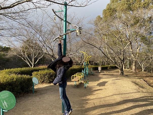 公渕森林公園 ちびっこ広場ジャンプ