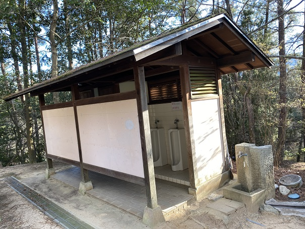 公渕森林公園アスレチックトイレ