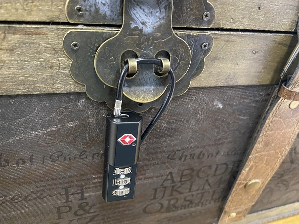 たけしの挑戦状南京錠と鍵宝箱