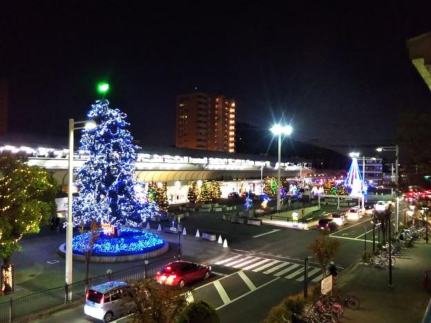 JR坂出駅前イルミネーション