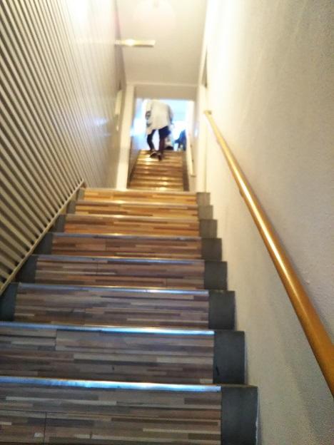 さぬきボドゲ王国 階段