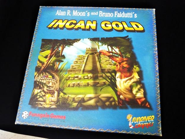 さぬきボドゲ王国 INCAN GOLD