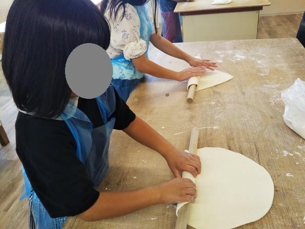 さぬき麺業のうどん打ち体験11