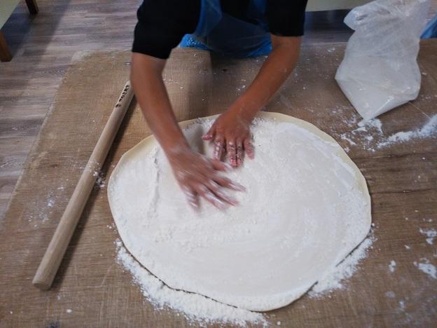 さぬき麺業のうどん打ち体験12