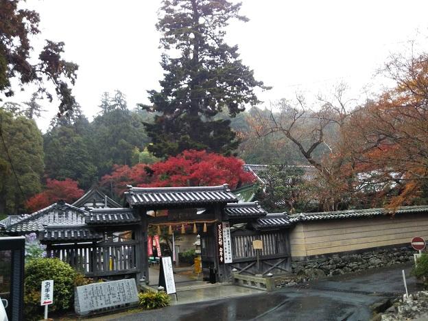 白峯寺入口の門