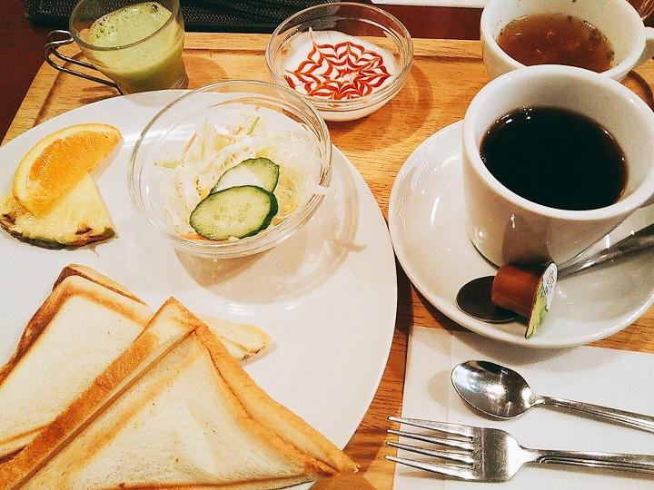 ホットサンJ current COFFEE(ジェイカレントコーヒー)ドモーニング