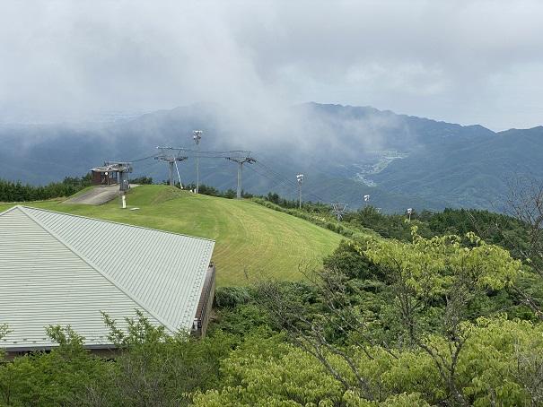 夏のスノーパーク雲辺寺
