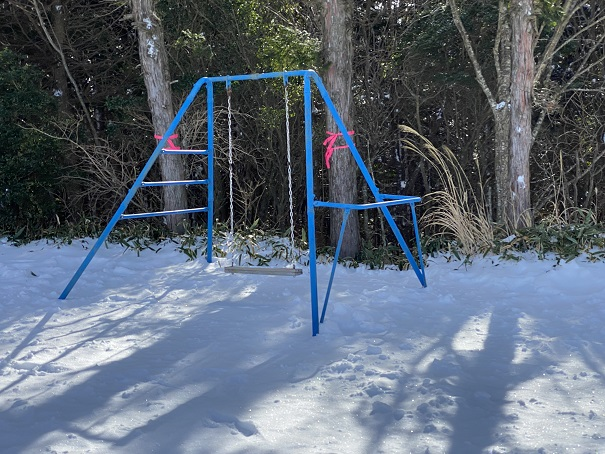 石鎚スキー場ピクニック園地ブランコ