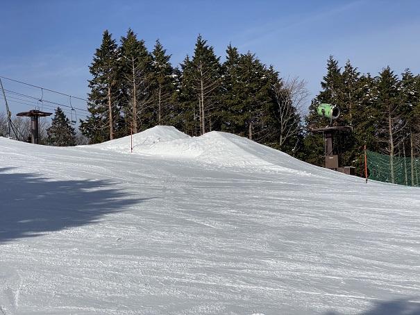 石鎚スキー場キッカー