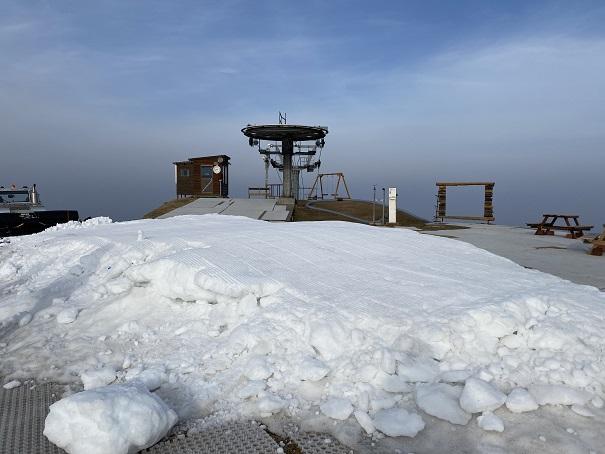 雲辺寺山頂公園 雪遊びエリア
