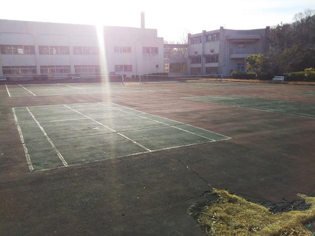 福山少年自然の家 テニスコート