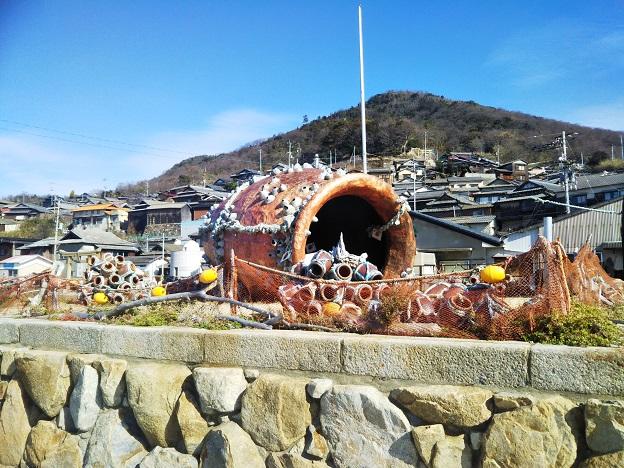 男木島 タコツボル