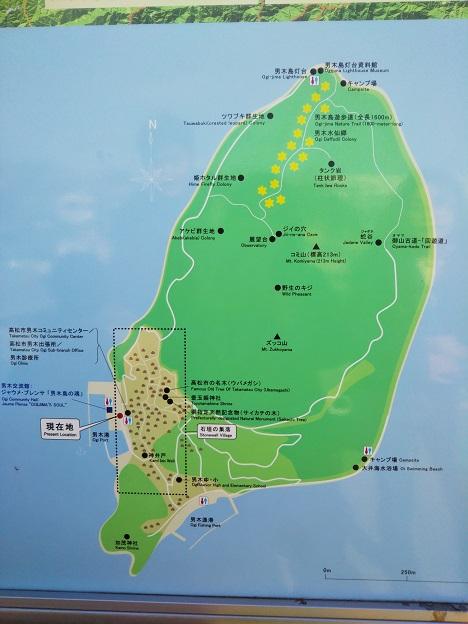 男木島 案内図