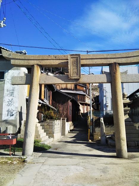 男木島 豊玉姫神社鳥居