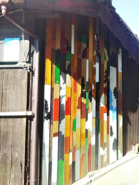 男木島 路地壁画wallalley