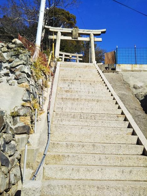 豊玉姫神社 階段