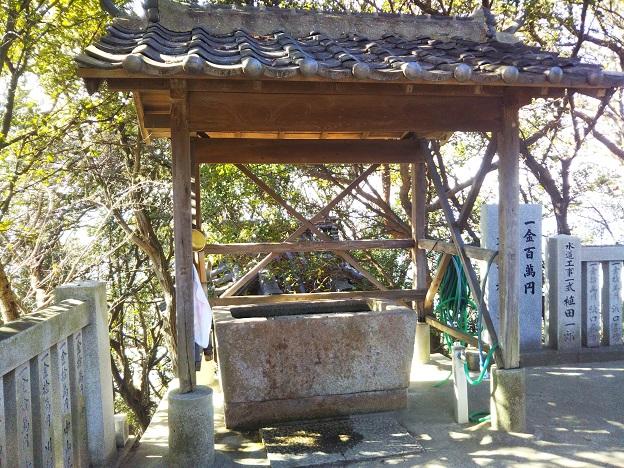 豊玉姫神社 お手水舎