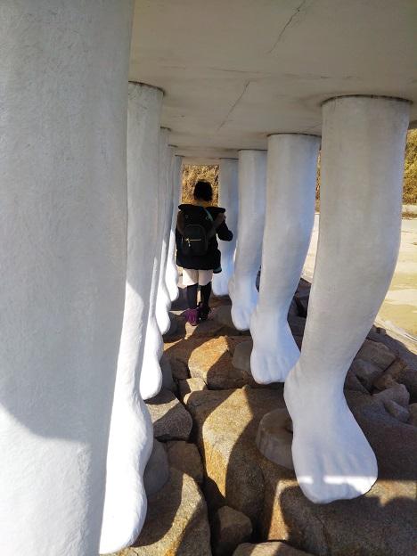歩く方舟のトンネル