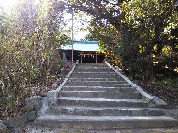 加茂神社 階段
