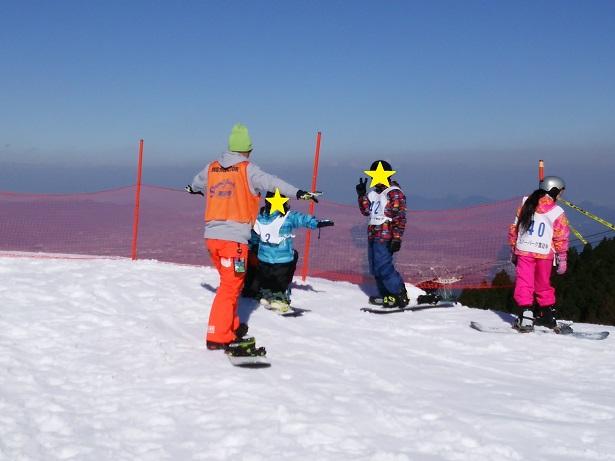 スノーパーク雲辺寺無料スノーボードスクール