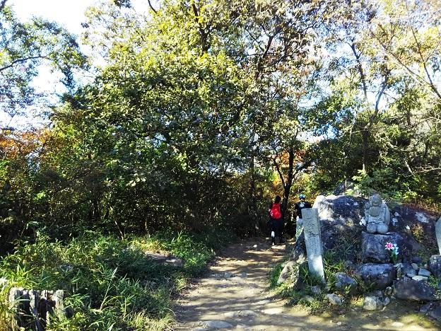 飯野山登山 下山1
