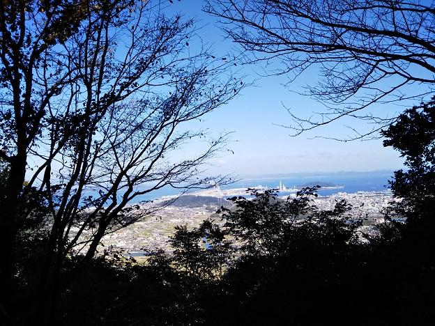 飯野山 9合目見晴らし