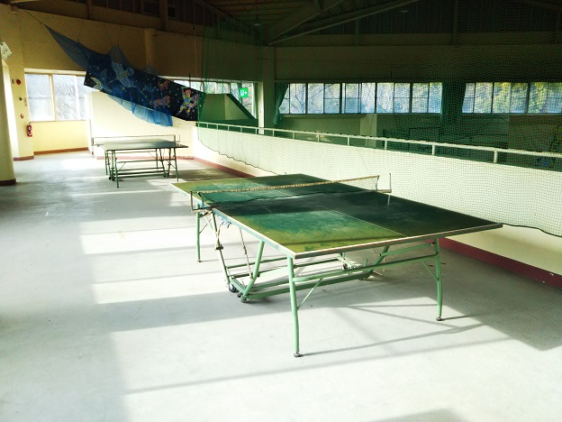福山少年自然の家 卓球台