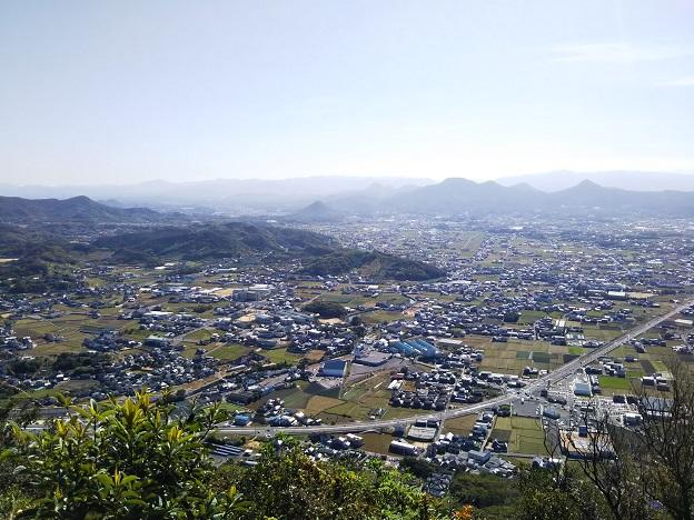 飯野山 6合目展望