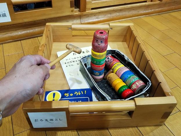 香川県立ミュージアム だるま落とし