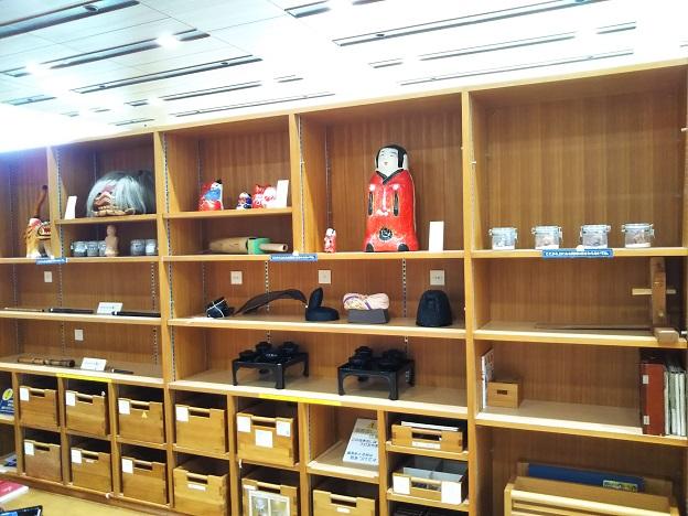香川県立ミュージアム 体験学習室展示品