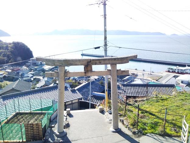 豊玉姫神社からの景色