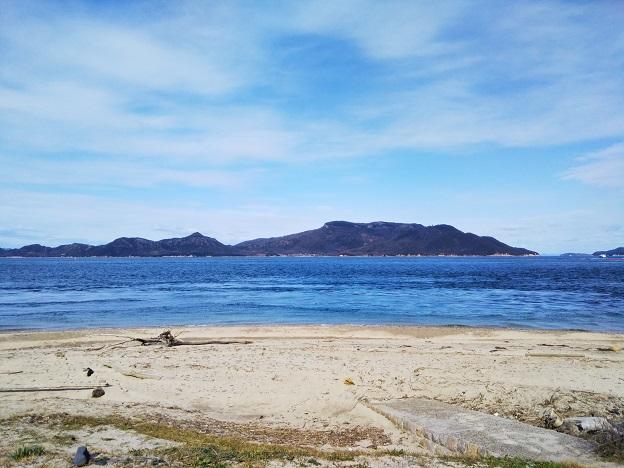 男木島遊泳禁止の海岸
