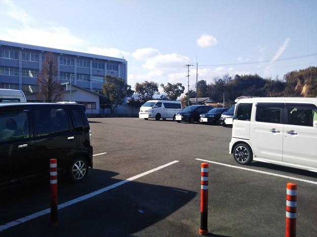うどんやまるちゃん 駐車場