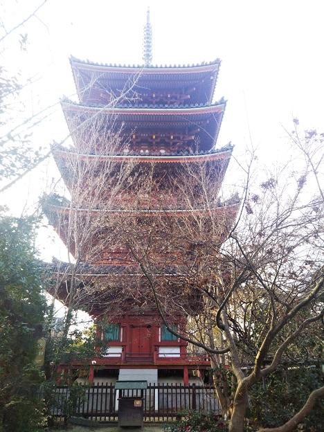 志度寺 五重塔