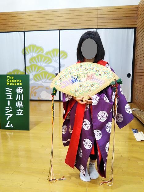 香川県立ミュージアム 着物着付け