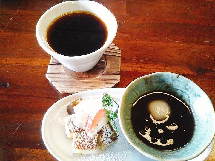 蔵カフェこうらく デザートコーヒー