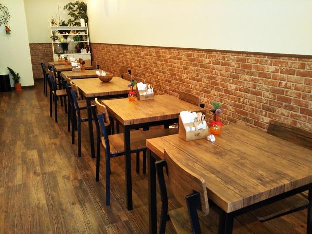 くまカフェ店内
